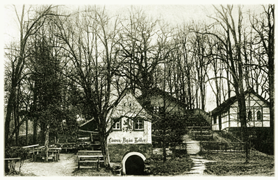 Historische Aussenansicht Löwenbräu Keller Buttenheim